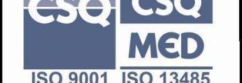 اخذ گواهی ISO 9001 و ISO 13485 در سال 1388